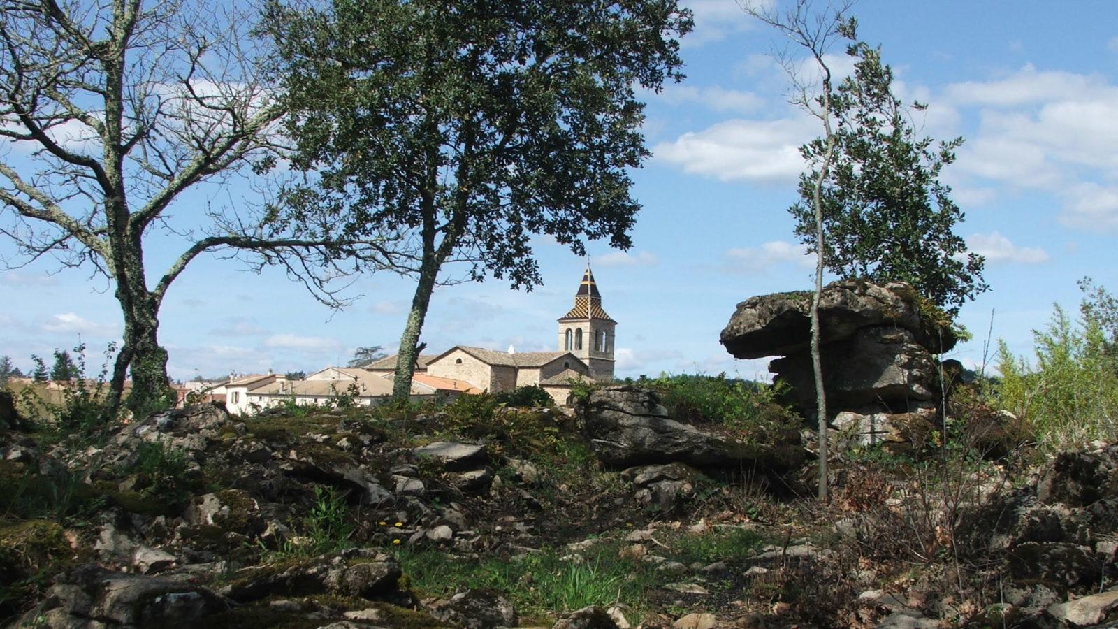 Laurac-en-Vivarais et le circuit de l'eau
