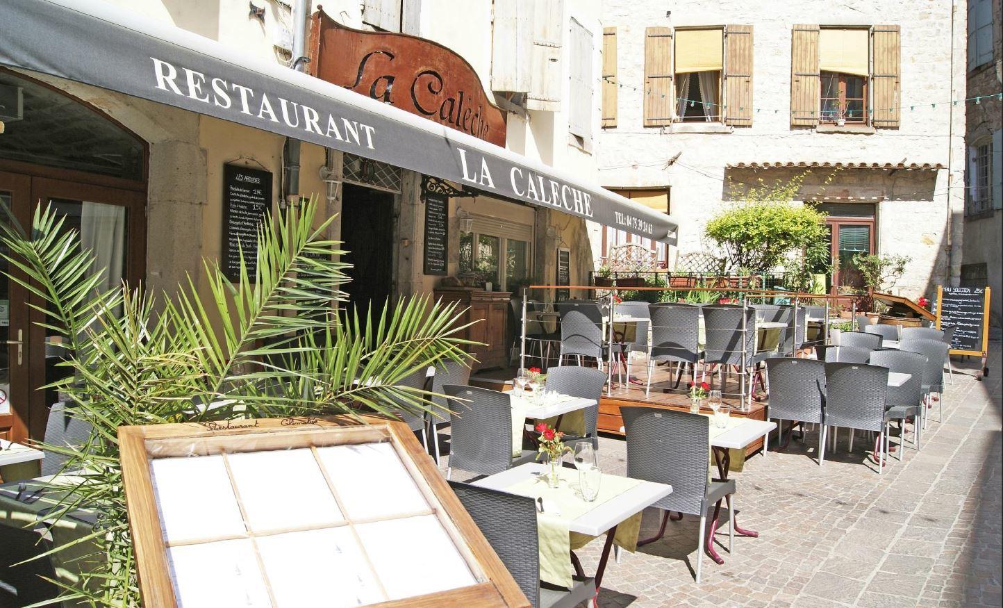 Restaurant La Calèche à Largentière