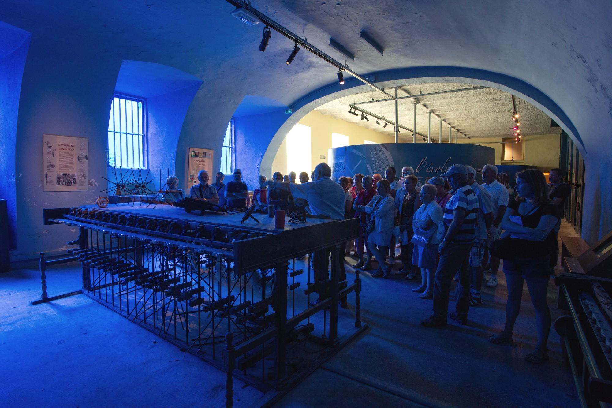 Chirols – Écomusée du moulinage – Visite de groupe 2