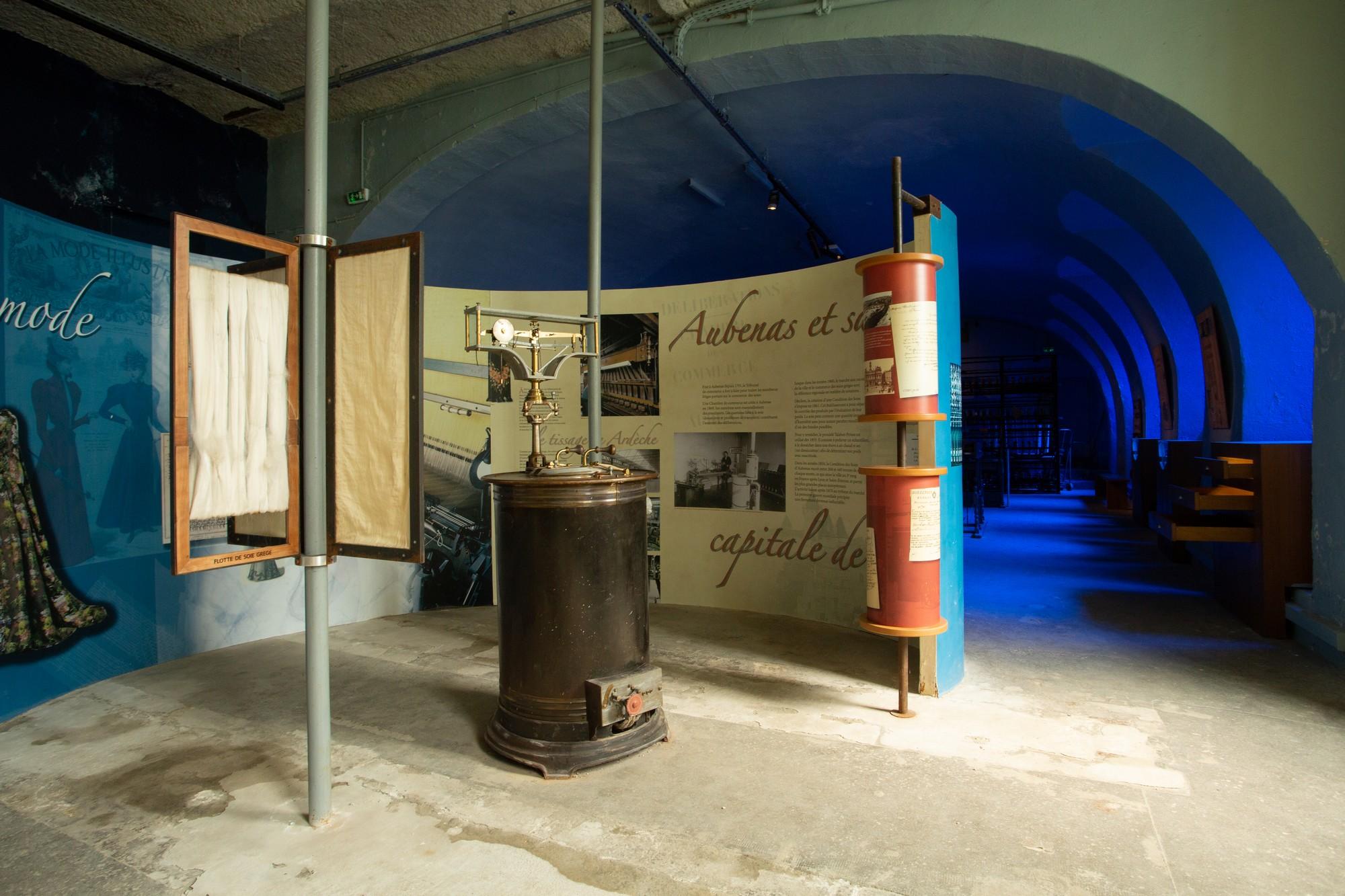 Chirols – Écomusée du moulinage – Partie de l'exposition