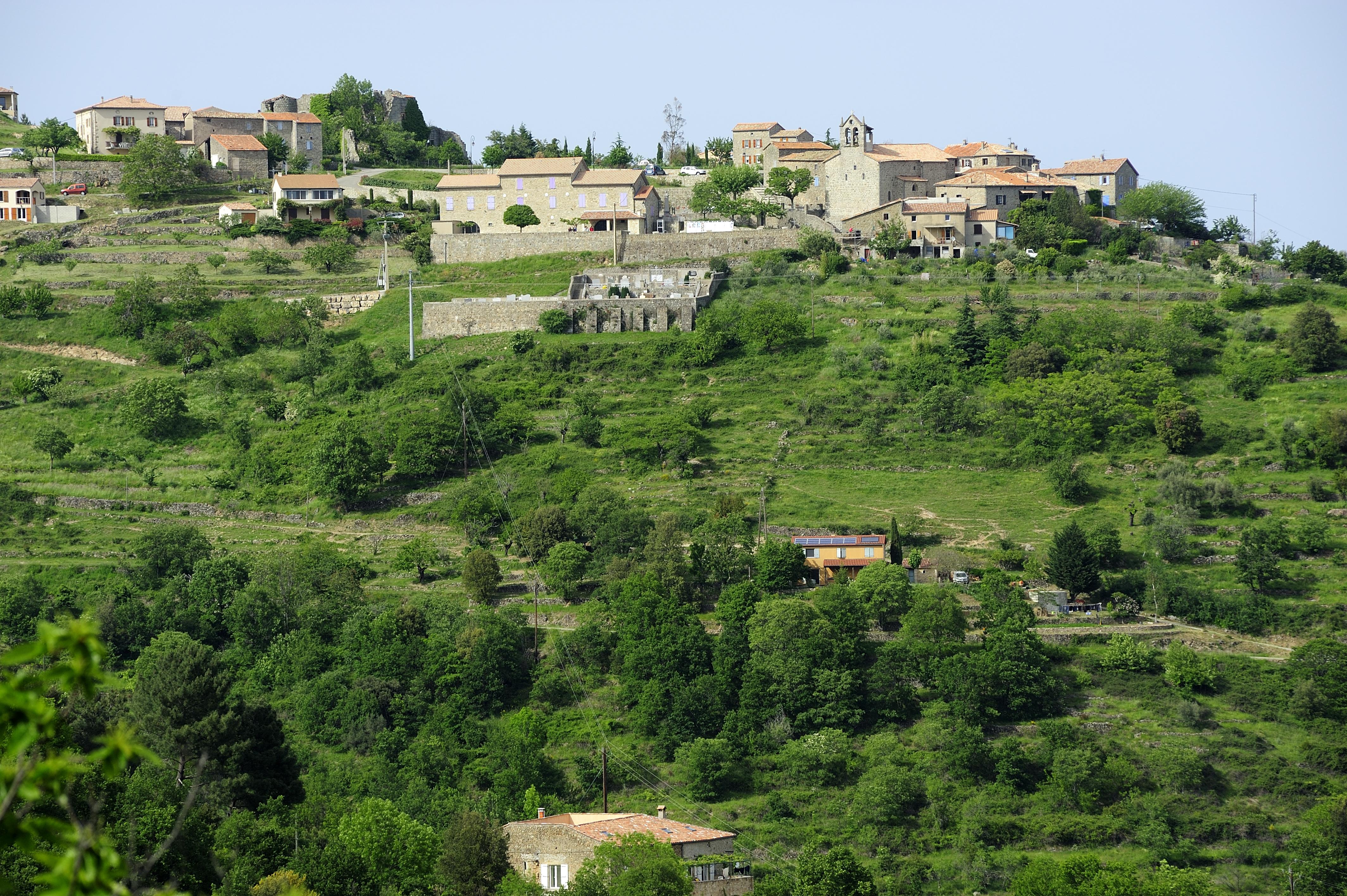 Chazeau village